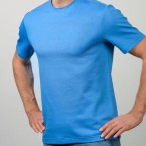 Alpaka T-Shirt hellblau