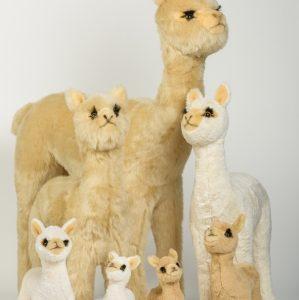 Kuschel Alpaka Familie