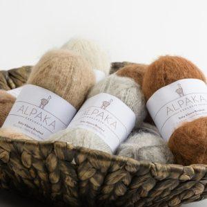 Baby Alpaka Brushed  Strick Wolle